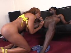 Carmen Hayes - and her huge tits geting fucked by a big black dick