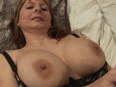 Horny mature wife in sexy lingerie loves part5