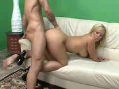 Big assed Austin Taylor gets fucked hard before getting her ass covered with jizz