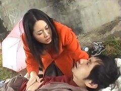 Sexy Japanese Chick Pounded by Surprise!