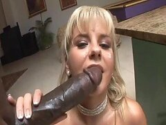 Bree Olson Sucks And Rides A Huge Monster Cock