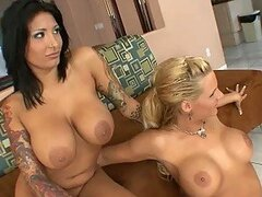 Threesome Action For This Horny Guys With Phoenix Marie And Ricki Raxxx