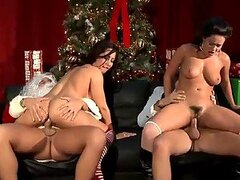 Fantasy Group Sex Between Christmas Characters