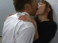 Japanese Couple Sneak Away For Sex