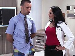 Doctor Addams Sucks And Fucks A Patients Monster Cock