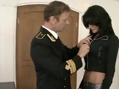 Rocco Siffredi and his friends have an orgy after a party
