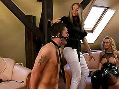 FRANKY GETS FEMDOM DOUBLE-TEAMED/GINA KILLMER, VIRUS VELLONS