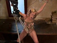 Abusing Tied Up Babes In Extreme BDSM Vid