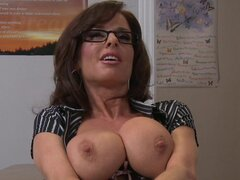 Milf and her massive knockers have sex