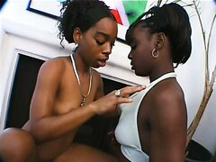 Naughty Black Lesbians Bringing Out Toys
