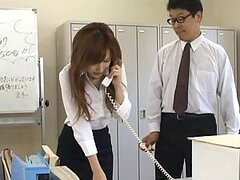 The Whole Office Abusing The Japanese Secretary