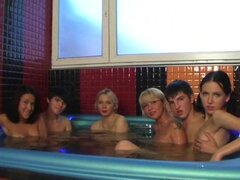 Orgy In The Fucking Sauna, Yes!
