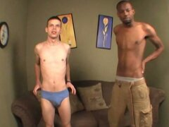 White boy suck and butt plug ths huge dick