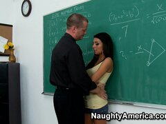 Lexi Diamond is a gem in class and the teacher loves to lock her hot twat