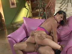 Sexy brunette Naudia Nyce loves to have anal sex after work
