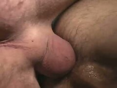 Amazing hardcore bareback fuck in close up