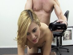 Cute First Timer Tory's Porn Audition