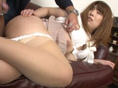 Busty MILF Gets Stripped And Force-Fed A Big Dick