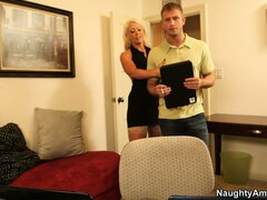 Alura Jenson is a blonde milf with fabulous huge tits and a passion for big dick
