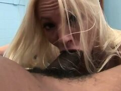 The blackness falls upon another unsuspecting white slut as pretty little Christy gets duped into letting the squad sample her fine ass! Watch this cute honey stretch her pretty pussy to the limit as she auditions for this episode of the Gang Bang Squad!