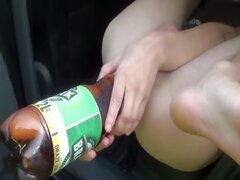 Bubbles enema in car