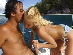 On the yacht with a lovely blond Julie Silver