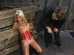 Barbie Face Blonde Gets Tortured And Brutally Fucked