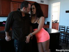 Jayden Jaymes is just as eager as he is to get his cock in her mouth