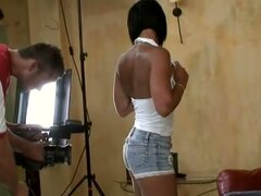Backstage with Cassy In Dp Video