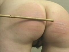 Schoolgirl bottom spanked...