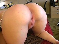 Blonde Swallowing A Big Dick Like A Champ