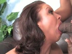 Vanessa videl saves her son by fucking black cock
