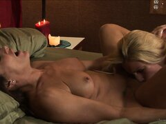 Incredibly passionate scene with young lesbian and her mature mentor