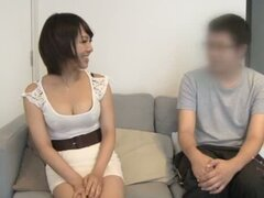 Mio Futaba has an amazing sex in a bedroom with her man