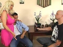 Busty MILF Britney O'Neil Making This Guy a True Mother Fucker