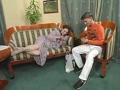 Sick Matures Women On Sofa