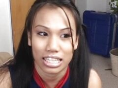 Asian Cheerleader Cavity Search