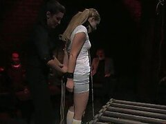 Cute Blonde Teen Being Brutally Dominated & Humiliated