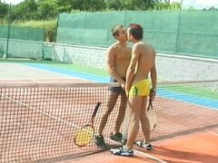 Tenis party can always be very funny and interesting