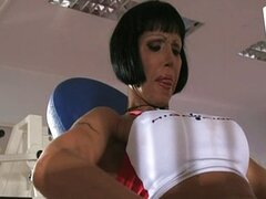 Valentine Demy - Mom Dped in Gym Club