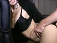 Erotic model Francine Dee live webcam show