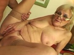 Saggy Titted Granny...
