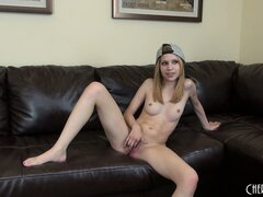 He bangs Mae Olson then licks her sweet pussy nectar making her moan and groan