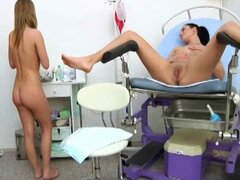 doctor and patient having fun 2