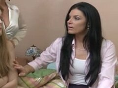 Two Mature Hot Mom With Young Girl