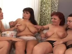 Fat Lesbian Threesome With Wet Hotties