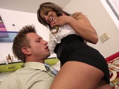 Shameless latina MILF Esperanza Gomez seduces her lover