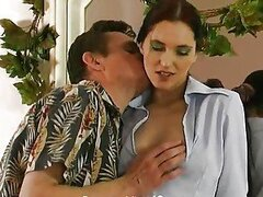 After watching, he decided to act and fucked his young wife