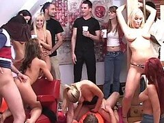 Huge Teen Sex Party With Hot Babes