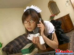 Japanese Servant Teen Girl